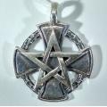 Защитный медальон Крест Тамплиеров