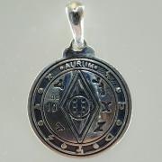 Пентакль Соломона богатство серебро
