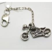 Брелок «Мотоцикл скелет»
