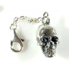 Брелок череп