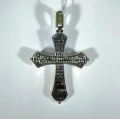 Крест серебряный