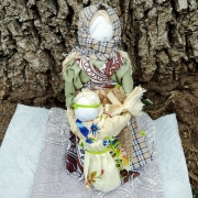 Кукла оберег Ведучка