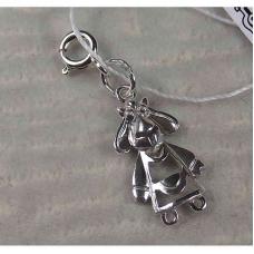 Серебряная подвеска-шарм «Овечка»