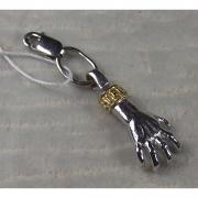 Подвеска-шарм «Рука-загребушка» позолота