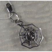 Серебряная подвеска-шарм «Паук»