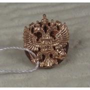 Значок «Герб России» позолота