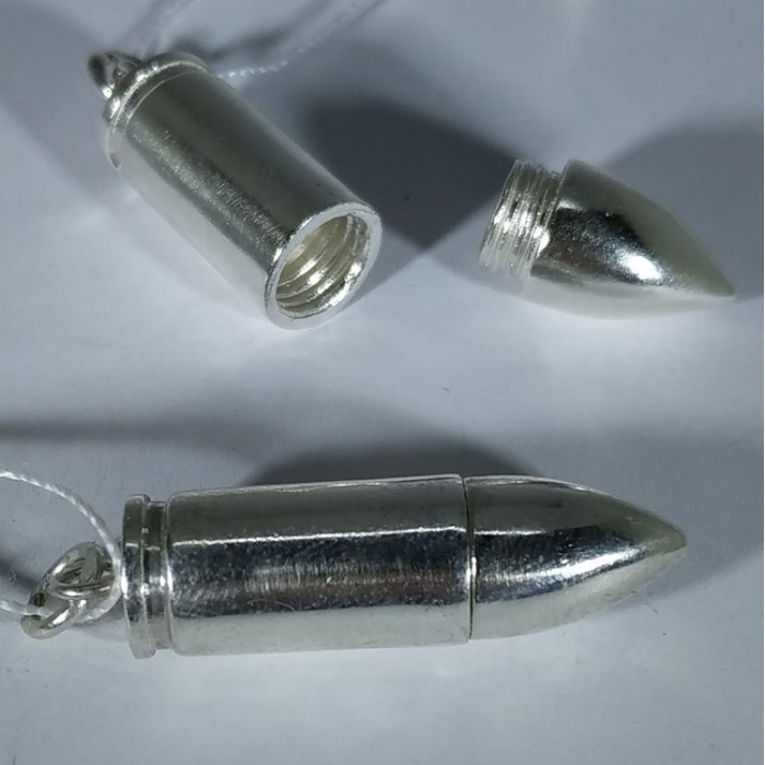 серебряный патрон