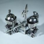 Статуэтки серебряные