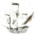 Статуэтка корабль